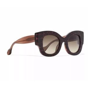 FENDI Pink Brown + Thierry Lasry Sylvy Sunglasses